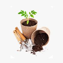 gardening coco peat